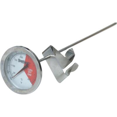 Bayou Classic Analog 5 In. Stainless Steel Thermometer