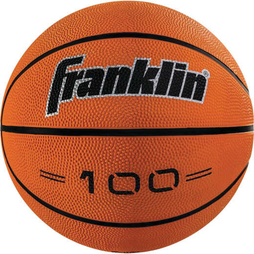 Franklin Grip-Rite Indoor/Outdoor Rubber Basketball, Official Size