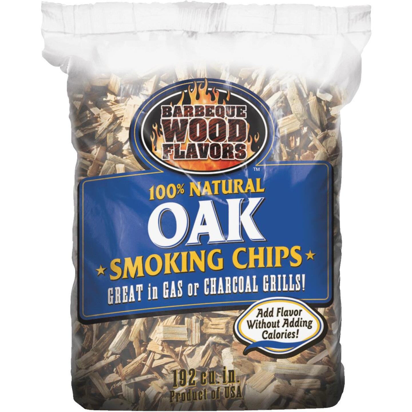 Barbeque Wood Flavors 2.25 Lb. Oak Smoking Chips Image 1