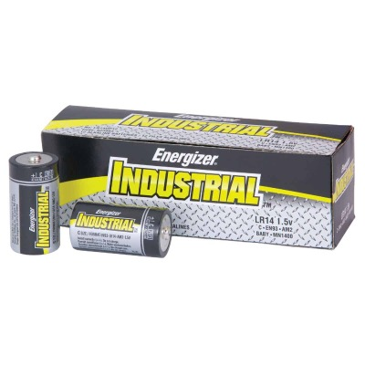 Energizer Industrial C Alkaline Battery