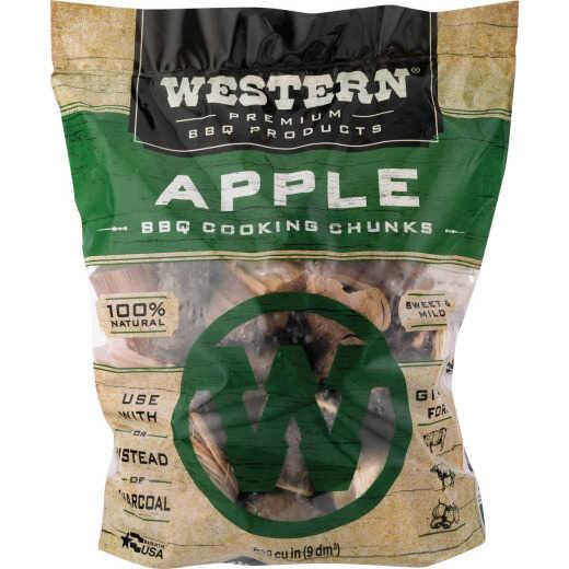 Western 549 Cu. In. Apple Wood Smoking Chunks
