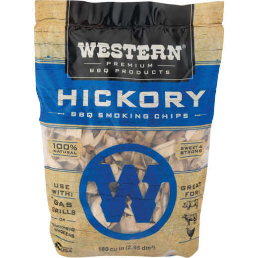 Western 180 Cu. In. Hickory Wood Smoking Chips