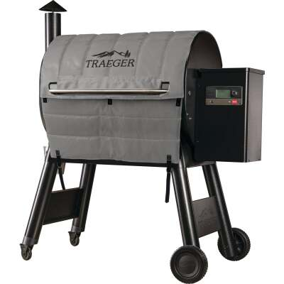 Traeger Pro 780 48.6 In. Gray Foil-Backed Heat-Resistant Fabric Insulated Blanket Grill Cover