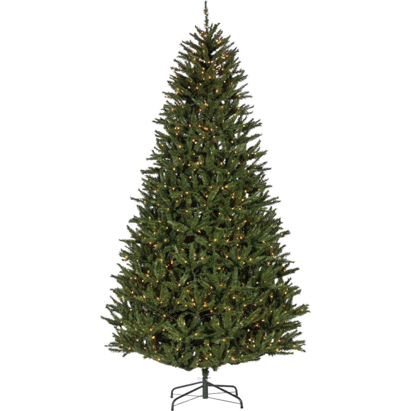 Sterling 9 Ft. New England Pine 1100-Bulb Clear Incandescent Prelit Artificial Christmas Tree Image 1